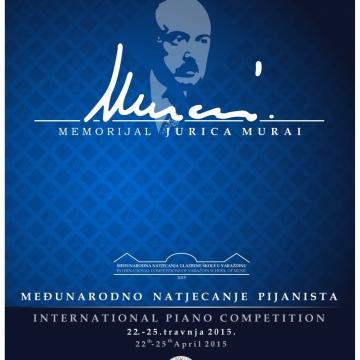 1. međunarodno natjecanje pijanista – 2015. godina