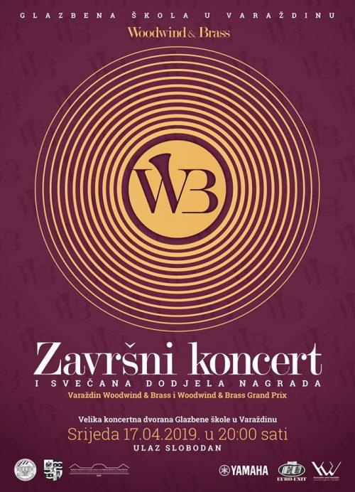 Plakat Završni koncert